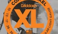 Струны для электрогитары D'ADDARIO EXP110 Regular Light
