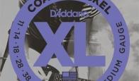 Струны для электрогитары D'ADDARIO EXP115 Blues/Jazz Rock
