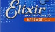 Струны для электрогитары ELIXIR 12027 NanoWeb Custom Light