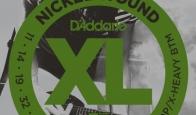 Струны для электрогитары D'ADDARIO EXL117 Medium Top / Extra Heavy Bottom
