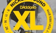 Струны для электрогитары D'ADDARIO EXL125 Super Light Top/Regular Bottom