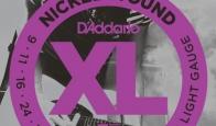 Струны для электрогитары D'ADDARIO EXL120 Super Light