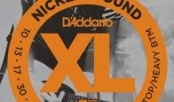 Струны для электрогитары D'ADDARIO EXL140 Light Top/Heavy Bottom
